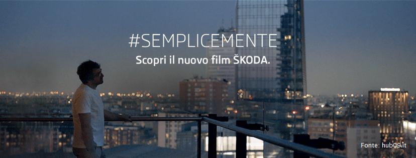 Nuova pubblicità della Skoda
