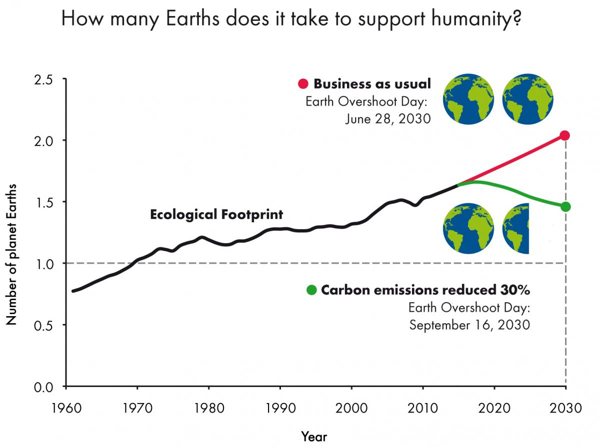 Ecological footprint e overshoot