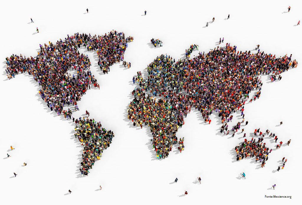 i numeri della popolazione mondiale
